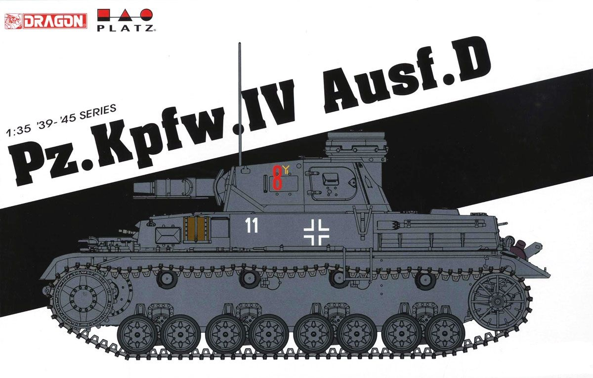 DRAGON-PLATZ-KIT-6873-1-35-PzKpfwIV-AusfD